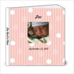 Zoe s Book - 6x6 Photo Book (20 pages)