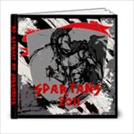 SPARTAN BOOK - 6x6 Photo Book (20 pages)