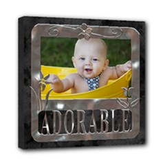 Adorable 8x8 Stretched Canvas - Mini Canvas 8  x 8  (Stretched)