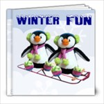 Winter Wonderland 8x8 book - 8x8 Photo Book (20 pages)