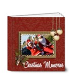 4x4 (DELUXE): BRAG BOOK: Christmas Memories - 4x4 Deluxe Photo Book (20 pages)