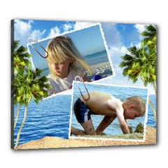 Vacation 24x20 Stretched Canvas - Canvas 24  x 20  (Stretched)