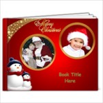 Red and Green Christmas 9x7 book (30 Pages) - 9x7 Photo Book (30 pages)