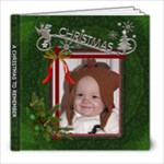 A Christmas To Remember 60 Page 8X8 Photo Book - 8x8 Photo Book (60 pages)