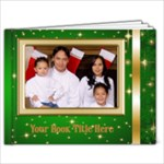Elegant Christmas landscape Picture Book 9x7 (30 Pages) - 9x7 Photo Book (30 pages)