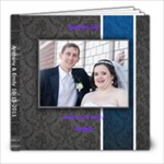 Tim Wedding - 8x8 Photo Book (20 pages)