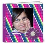 Bday Girl Smiles 8x8 - 8x8 Deluxe Photo Book (20 pages)