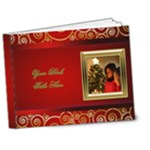 My Christmas  Deluxe Book 7x5 (20 Pages) - 7x5 Deluxe Photo Book (20 pages)