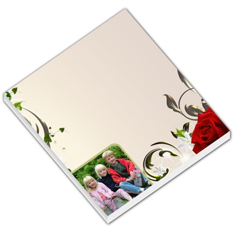 My Rose Small Memo By Deborah   Small Memo Pads   Vx41nv3vcfke   Www Artscow Com