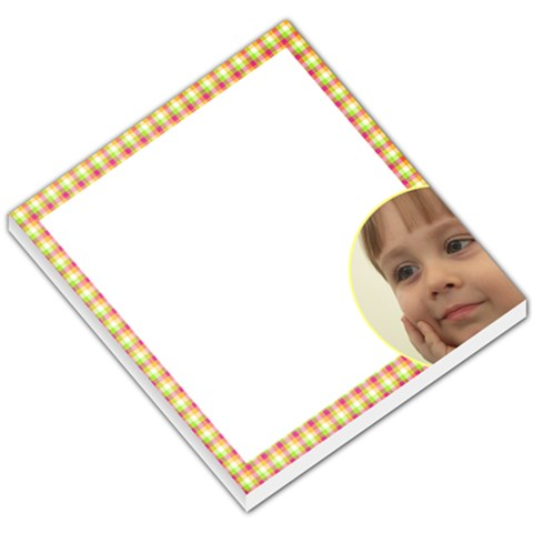 Checked Small Memo By Deborah   Small Memo Pads   K8h8bn21g6bz   Www Artscow Com