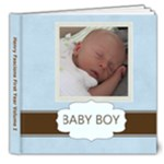 Henry Template - 8x8 Deluxe Photo Book (20 pages)