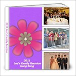2011 Lee s Family Reunion - 8x8 Photo Book (20 pages)