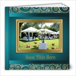 Festive Elegant 8x8 Picture Book (20 Pages) - 8x8 Photo Book (20 pages)