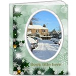 Winter Snowflake 8x10 Deluxe Book - 8x10 Deluxe Photo Book (20 pages)