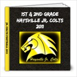 1st and 2nd grade colts - 8x8 Photo Book (20 pages)