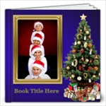 O Christmas Tree 12x12 Book (40 Pages) - 12x12 Photo Book (20 pages)