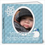 Winter Memories 12x12 40 Page Photo Book - 12x12 Photo Book (20 pages)