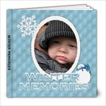 Winter Memories 8x8 39 Page Photo Book - 8x8 Photo Book (39 pages)