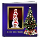 O Christmas Tree  Deluxe 8x8 Book (20 Pages) - 8x8 Deluxe Photo Book (20 pages)
