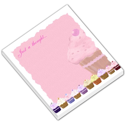 Just A Thought Small Memo Pad By Claire Mcallen   Small Memo Pads   Orhn61jpc7ua   Www Artscow Com