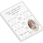 Blue toile Love memo pad - Large Memo Pads