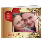 Valentine 11x8.5 Book (20 pages) - 11 x 8.5 Photo Book(20 pages)
