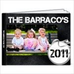 The Barracos 2011 - 11 x 8.5 Photo Book(20 pages)
