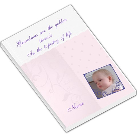 Grandmas Are The Golden Threads Memo Pad By Claire Mcallen   Large Memo Pads   Gr898yn577fy   Www Artscow Com