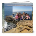 LaJolla Beach Photo book- Bebe - 8x8 Photo Book (20 pages)