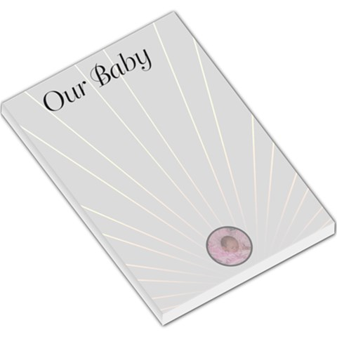 Our Baby Lg Memo Pad By Kim Blair   Large Memo Pads   179pcfxls857   Www Artscow Com