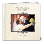 MM Wed - 8x8 Photo Book (20 pages)
