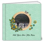 8x8 (DELUXE) : Cherished Moments - 8x8 Deluxe Photo Book (20 pages)