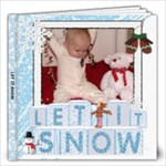 Let It Snow 12x12 30 Page Photo Book - 12x12 Photo Book (20 pages)
