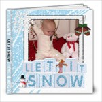 Let It Snow 8x8 39 Page Photo Book - 8x8 Photo Book (39 pages)