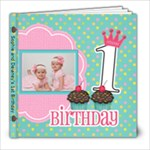 1stbdaybook - 8x8 Photo Book (20 pages)