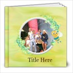 My Back Yard 8x8 photobook - 8x8 Photo Book (20 pages)