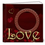 The Red Heart Book Delux - 8x8 Deluxe Photo Book (20 pages)