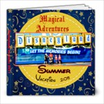disneyland 2011 - 8x8 Photo Book (20 pages)