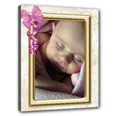 Our girl 20x16 stretched canvas - Canvas 20  x 16  (Stretched)