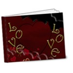 Red Love Delux Book - 7x5 Deluxe Photo Book (20 pages)