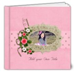 8x8 (DELUXE): Love is YOU! - any theme - 8x8 Deluxe Photo Book (20 pages)