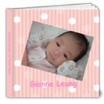 Gianna Album - 8x8 Deluxe Photo Book (20 pages)