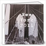 New York City 2011 - 12x12 Photo Book (40 pages)