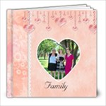 Love You 8x8 Photobook Template - 8x8 Photo Book (20 pages)