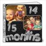 C &C 14-15 months - 8x8 Photo Book (20 pages)