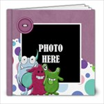 Monster Party 8x8 Book - 8x8 Photo Book (20 pages)