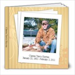 Clinton Travis Slayton book - 8x8 Photo Book (20 pages)