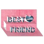 breast cancer best friend card - Best Friends 3D Greeting Card (8x4)