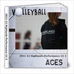 Volleyball book - 8x8 Photo Book (20 pages)