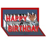 My Boy 3D Birthday Card - Happy Birthday 3D Greeting Card (8x4)